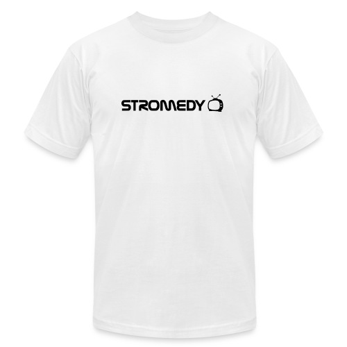 White Stromedy T-Shirt - Unisex Jersey T-Shirt by Bella + Canvas