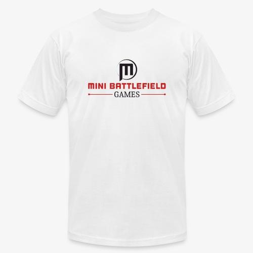Mini Battlefield Games Logo - Men's  Jersey T-Shirt