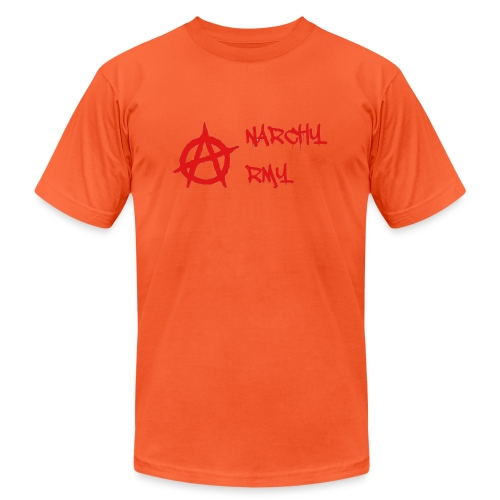 Anarchy Army LOGO - Unisex Jersey T-Shirt by Bella + Canvas