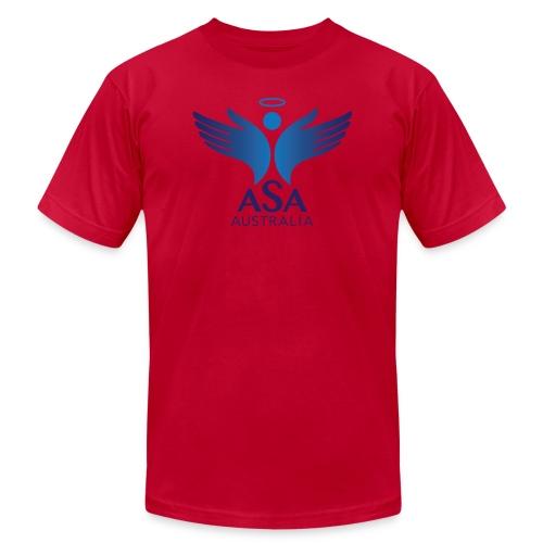 3459 Angelman Logo AUSTRALIA FA CMYK - Unisex Jersey T-Shirt by Bella + Canvas