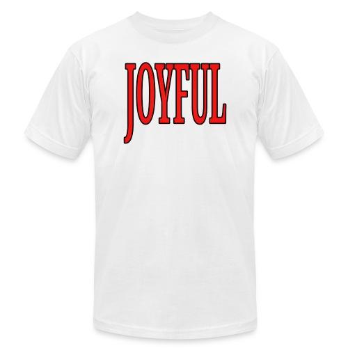 Dave The Cat Big Word Tee! Joyful! - Men's  Jersey T-Shirt