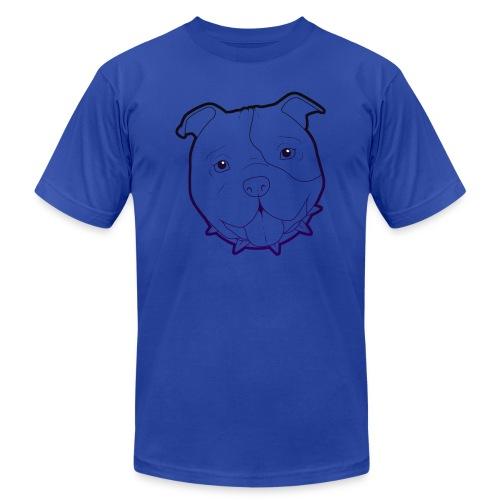 Pit Tee Outline alt. - Men's Jersey T-Shirt