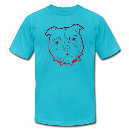 Pit Tee Outline - Men's  Jersey T-Shirt
