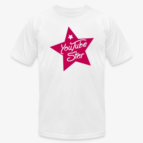 YouTube Star - Unisex Jersey T-Shirt by Bella + Canvas