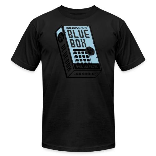 bluebox-new-lightbg_v3 - Unisex Jersey T-Shirt by Bella + Canvas