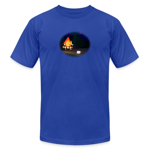 'Round the Campfire - Unisex Jersey T-Shirt by Bella + Canvas