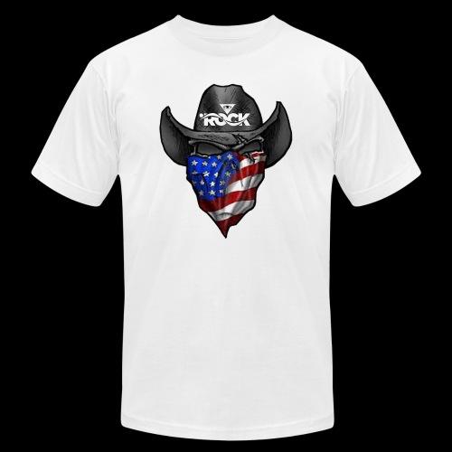 Eye rock cowboy Design - Unisex Jersey T-Shirt by Bella + Canvas
