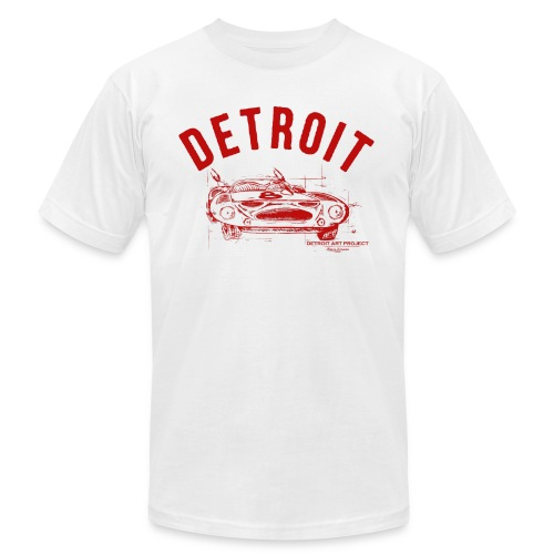 Detroit Art Project - Unisex Jersey T-Shirt by Bella + Canvas