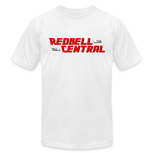 RedbellCentral Pointing to the Present - Unisex Jersey T-Shirt by Bella + Canvas