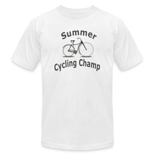 Summer Cycling Champ - Men's  Jersey T-Shirt