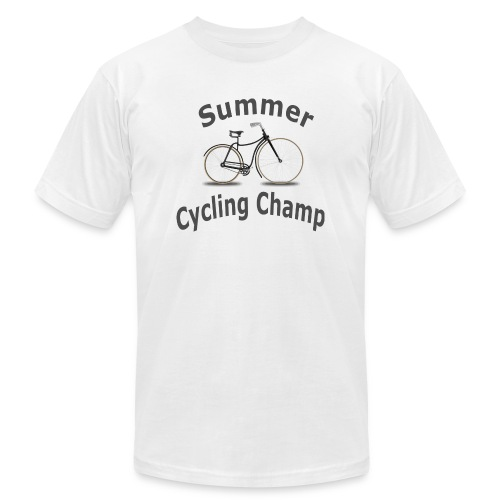 Summer Cycling Champ - Unisex Jersey T-Shirt by Bella + Canvas