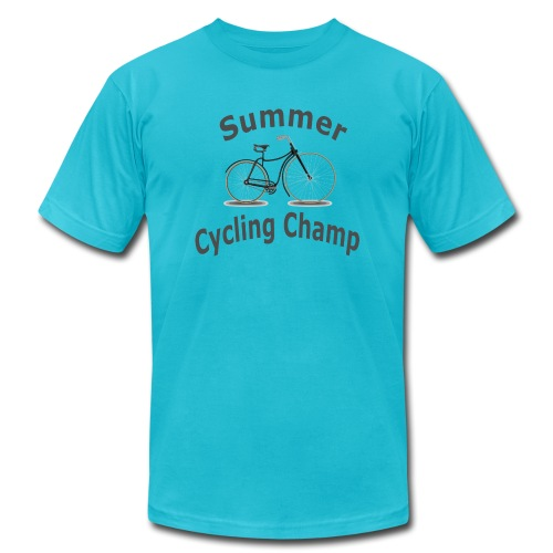 Summer Cycling Champ - Men's Jersey T-Shirt