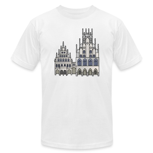 Town Hall Münster, Cityhall, Mayor - Unisex Jersey T-Shirt by Bella + Canvas