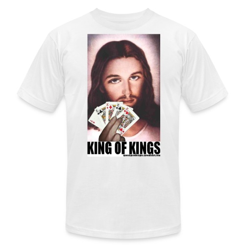 king of kings tshirt - Unisex Jersey T-Shirt by Bella + Canvas