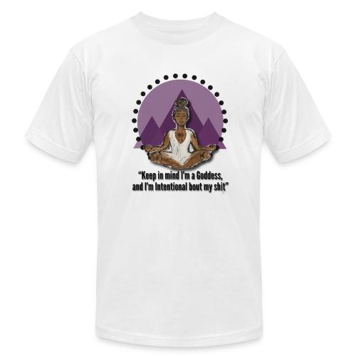 Meditating Goddess - Unisex Jersey T-Shirt by Bella + Canvas