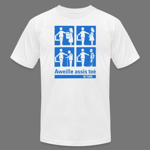 Aweille assis toé - Unisex Jersey T-Shirt by Bella + Canvas