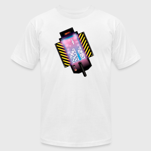 Ghostbusters Tetris Fair Use Mashup - Unisex Jersey T-Shirt by Bella + Canvas