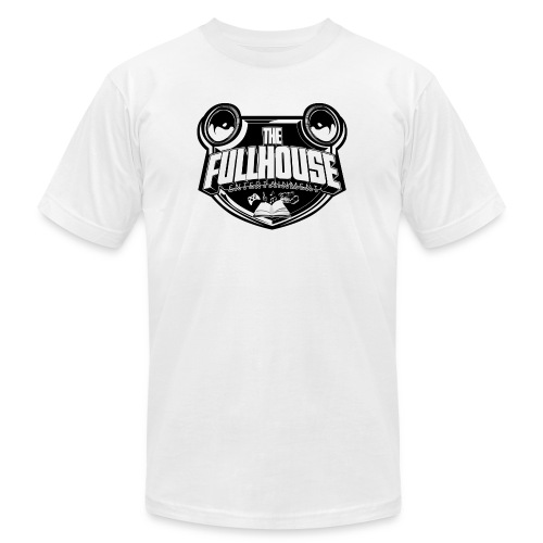 Organic T-Shirt With Black & White FHE Logo - Unisex Jersey T-Shirt by Bella + Canvas