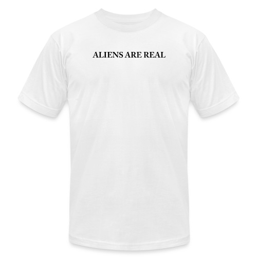 Aliens are Real - Unisex Jersey T-Shirt by Bella + Canvas