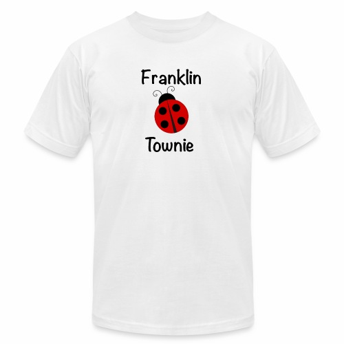 Franklin Townie Ladybug - Unisex Jersey T-Shirt by Bella + Canvas