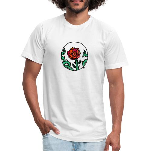 Rose Cameo - Unisex Jersey T-Shirt by Bella + Canvas