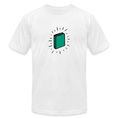 Book - Unisex Jersey T-Shirt by Bella + Canvas