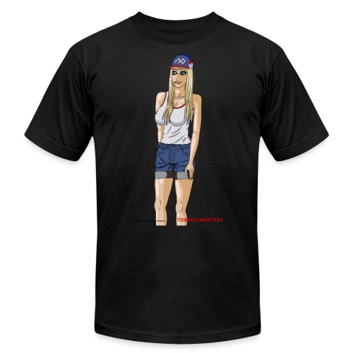 Gina Character Design - Men's Jersey T-Shirt