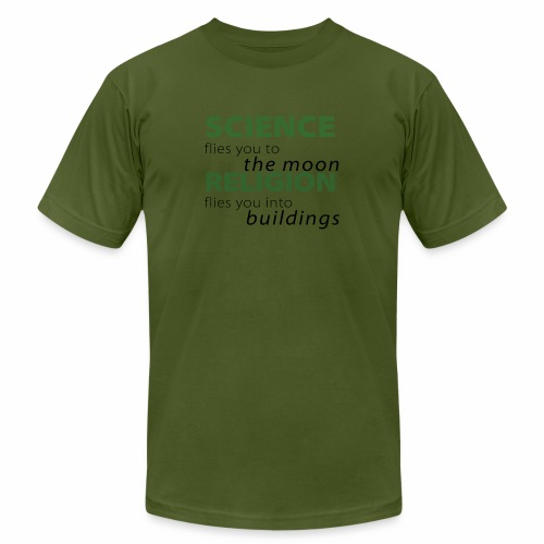 Science, Fly me to the Moon - Unisex Jersey T-Shirt by Bella + Canvas