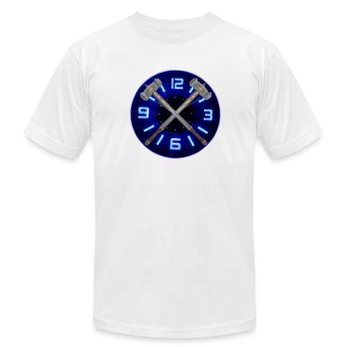 Hammer Time T-Shirt- Steel Blue - Unisex Jersey T-Shirt by Bella + Canvas