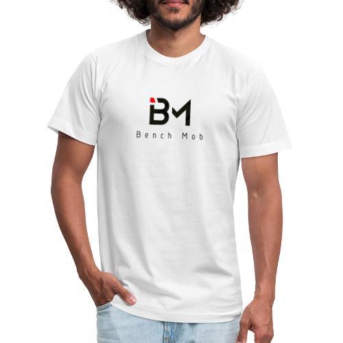 Bench Mob Logo (black) - Unisex Jersey T-Shirt by Bella + Canvas
