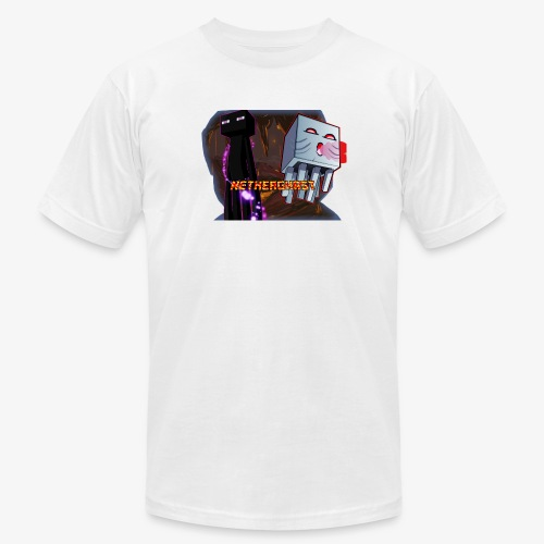 NetherGhast Mascot - Unisex Jersey T-Shirt by Bella + Canvas