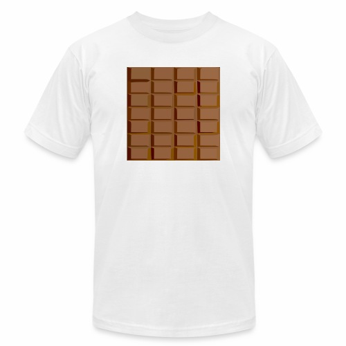Chocolate - Unisex Jersey T-Shirt by Bella + Canvas