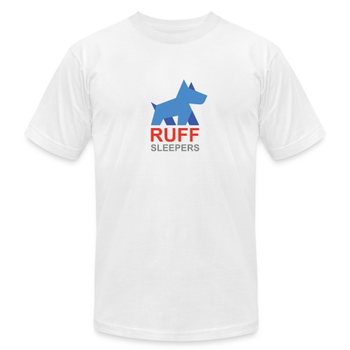 ruffsleepers logo 01 - Unisex Jersey T-Shirt by Bella + Canvas
