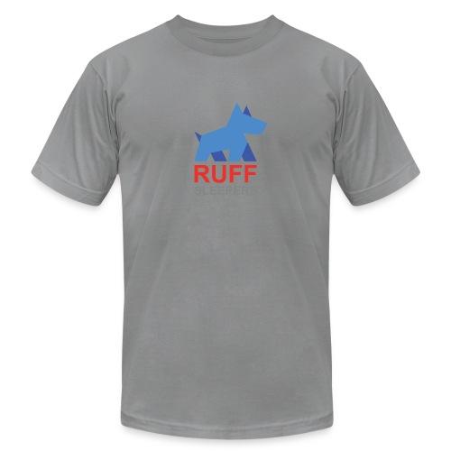 ruffsleepers logo 01 - Unisex Jersey T-Shirt by Bella + Canvas