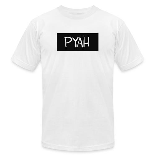 PYAH Box Logo - Men's  Jersey T-Shirt