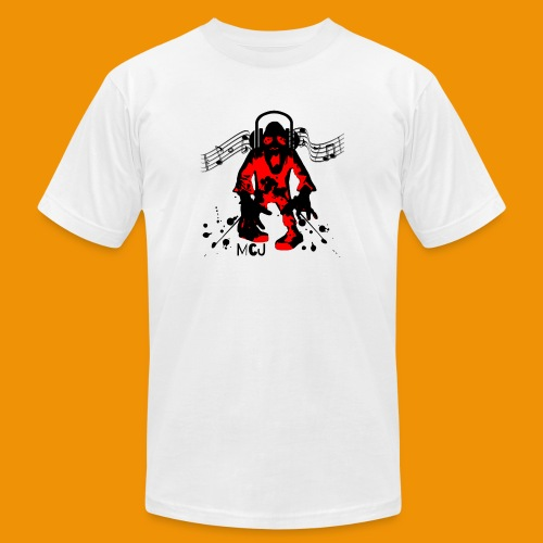 Music Zombie - Men's  Jersey T-Shirt