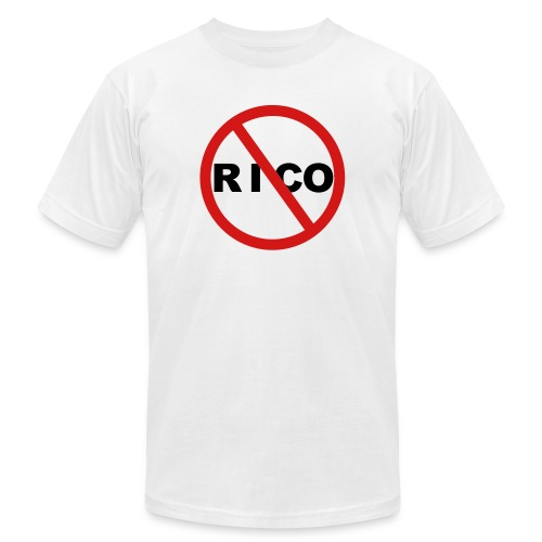 rico white - Unisex Jersey T-Shirt by Bella + Canvas