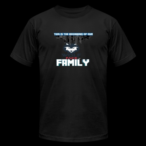 We Are Linked As One Big WolfPack Family - Men's  Jersey T-Shirt