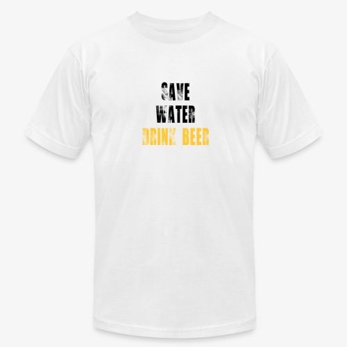 Save water drink beer - Men's  Jersey T-Shirt