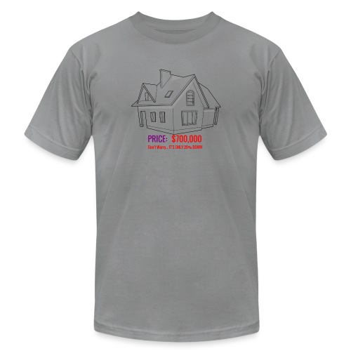 Fannie & Freddie Joke - Unisex Jersey T-Shirt by Bella + Canvas