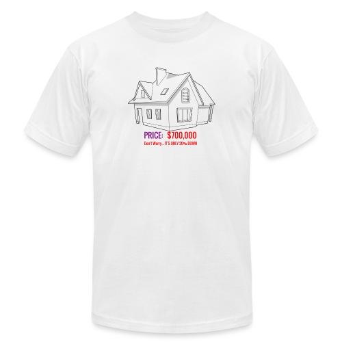 Fannie & Freddie Joke - Men's Jersey T-Shirt