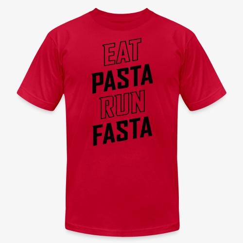 Eat Pasta Run Fasta v2 - Men's Jersey T-Shirt