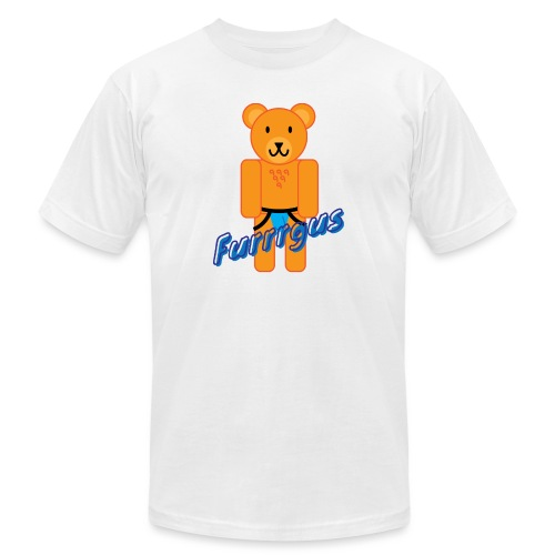 Furrrgus @ Underbear - Unisex Jersey T-Shirt by Bella + Canvas