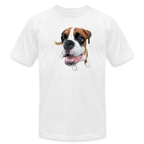 Boxer Rex the dog - Unisex Jersey T-Shirt by Bella + Canvas