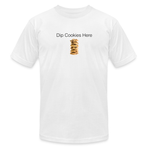 Dip Cookies Here mug - Unisex Jersey T-Shirt by Bella + Canvas