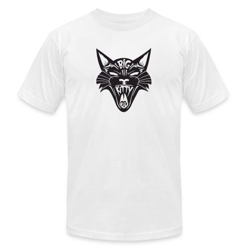 Big Kitty-Screaming Cat - Men's  Jersey T-Shirt