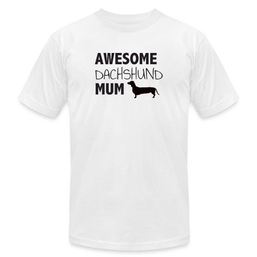 Awesome Dachshund Mum - Unisex Jersey T-Shirt by Bella + Canvas