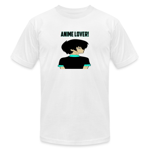 anime lover - Unisex Jersey T-Shirt by Bella + Canvas