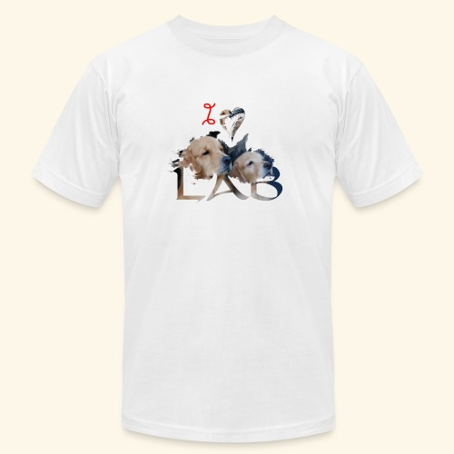 I love Lab - Men's Jersey T-Shirt