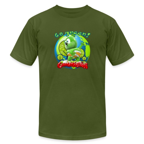 Gummibär Go Green Earth Day Earth - Unisex Jersey T-Shirt by Bella + Canvas
